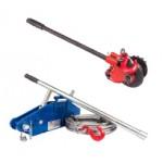 Лебедки ручные рычажные тросовые (механизмы тяговые монтажные г/п 1,5 - 3,0 т) стальной корпус