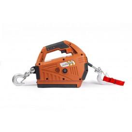 Лебедка электрическая переносная SQ-05 450 кг 4,6 м с аккумулятором 24 В
