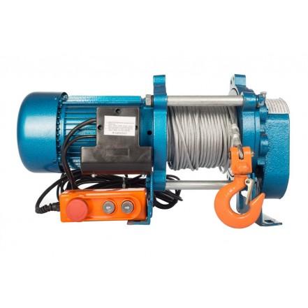 Лебедка CD-1000-A (KCD-1000 kg, 380 В) с канатом 70 м