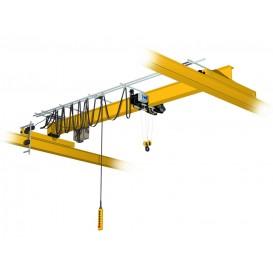 Кран мостовой однобалочный опорный однопролётный г/п 2 т пролет 10,5 м