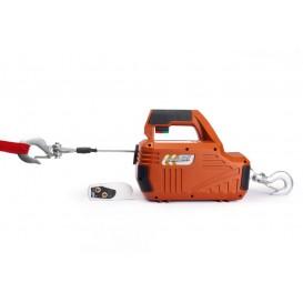 Лебедка электрическая переносная SQ-02 450 кг 4,6 м 220 В с пультом
