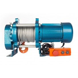 Лебедка CD-500-A (KCD-500 kg, 220 В) с канатом 100 м