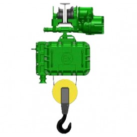 Таль электрическая взрывозащищенная г/п 1,0 т Н - 30 м, тип ВТ