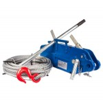 Лебедки ручные рычажные тросовые (механизмы тяговые монтажные г/п 0,8 - 5,4 т)