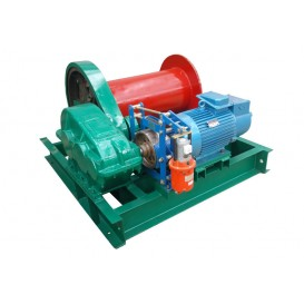 Лебедка электрическая ЛМ (тип JM) г/п 10,0 тн Н=450 м (б/каната)