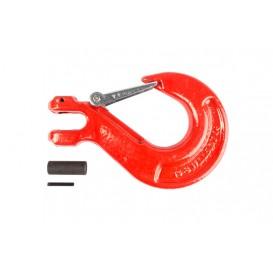 Крюк с вилочным креплением и защелкой г/п 5,3 тн