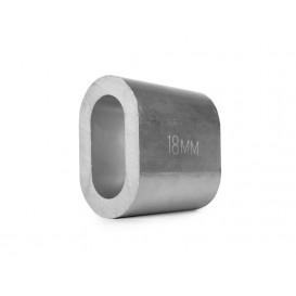 Втулка алюминиевая 18 мм DIN 3093