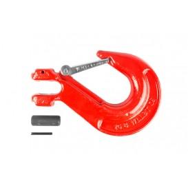 Крюк с вилочным креплением и защелкой г/п 8,0 тн
