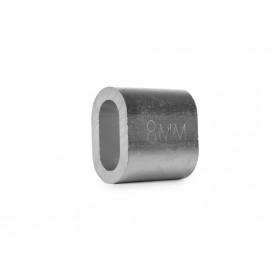 Втулка алюминиевая 8 мм DIN 3093
