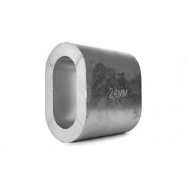 Втулка алюминиевая 24 мм DIN 3093