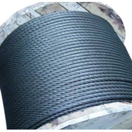 Канат стальной ЛК-Р 6х19, 9,1 мм, ГОСТ 2688-80